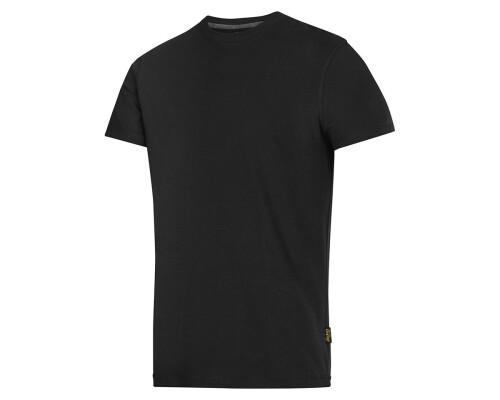 Tričko s krátkým rukávem Snickers 160g, černá, velikost S