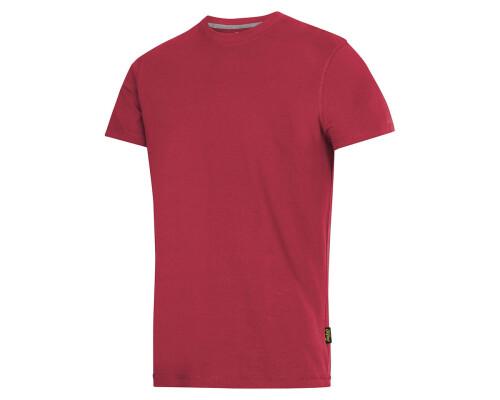 Tričko s krátkým rukávem Snickers 160g, červená, velikost M