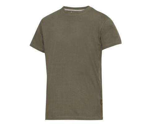 Tričko s krátkým rukávem Snickers 160g, olivová