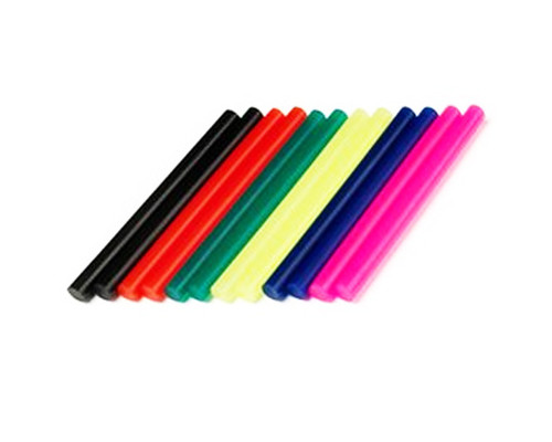 sada lepících tyček, DREMEL, GG05, barevné, 7mm, 12ks