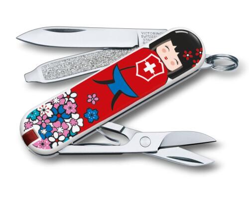Kapesní nůž Victorinox Classic Design 2016 - Kokeshi, 58mm
