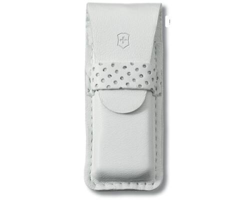 Pouzdro kožené pro nože Victorinox Classic SD, bílé 58mm