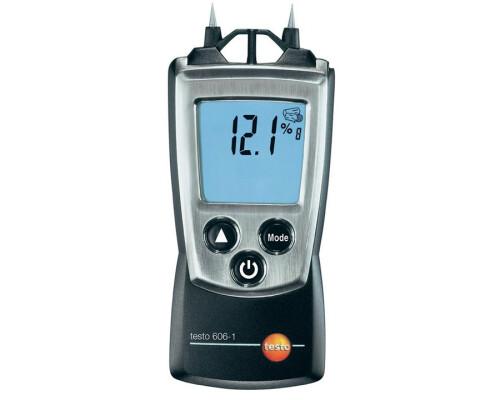 Elektronický měřič vlhkosti dřeva a stavebních hmot Testo 606-1