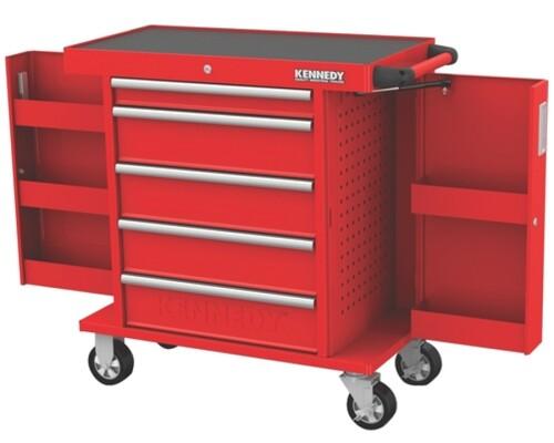 Dílenský vozík Kennedy 5x zásuvka + 2x box