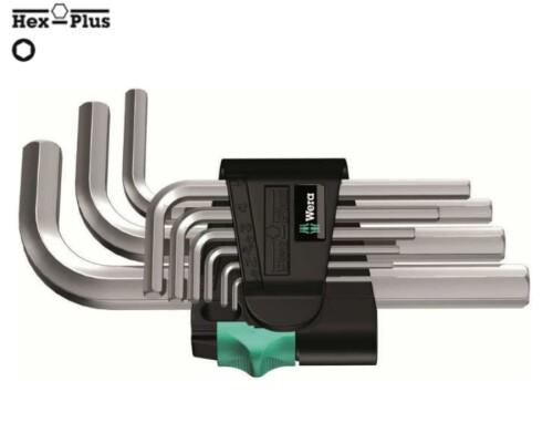 sada IMBUS klíčů chromovaná, krátká, WERA 950/9 SM N