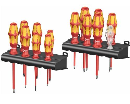 Sada šroubováků Wera Kraftform Plus Lasertip VDE 1000V + stojan 14ks