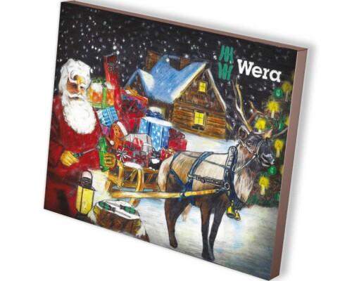 Adventní kalendář s ručním nářadím Wera 2016, 24ks