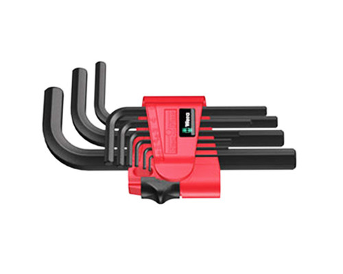 sada IMBUS klíčů, krátké, WERA 950 PKL/9 BM N