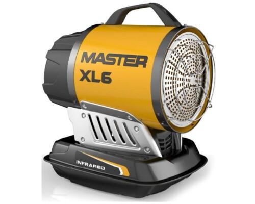 mobilní naftové infračervené topidlo Master XL 6, 17kW