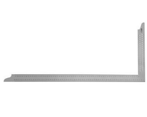 Tesařský úhelník, orýsovací otvory, nerez, délka 1000mm